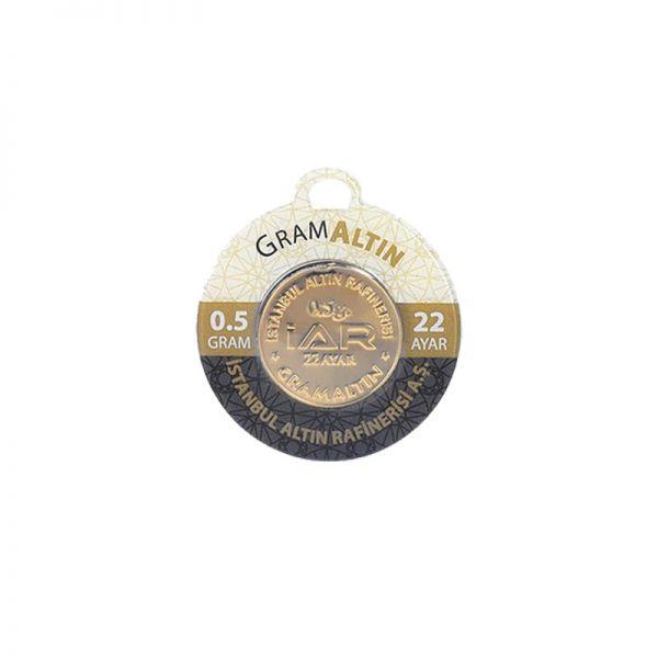 0.50 gram 22 Ayar Altın