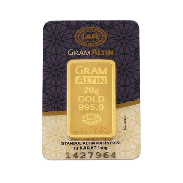 20 gram 24 Ayar Altın