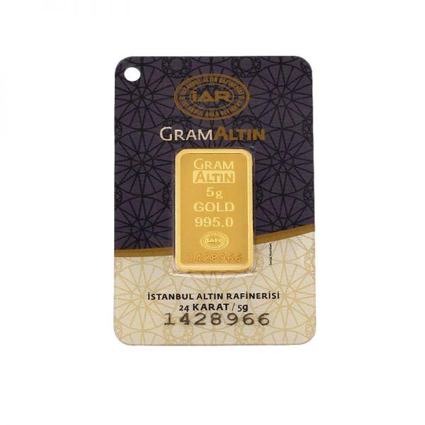 5 gram 24 Ayar Altın