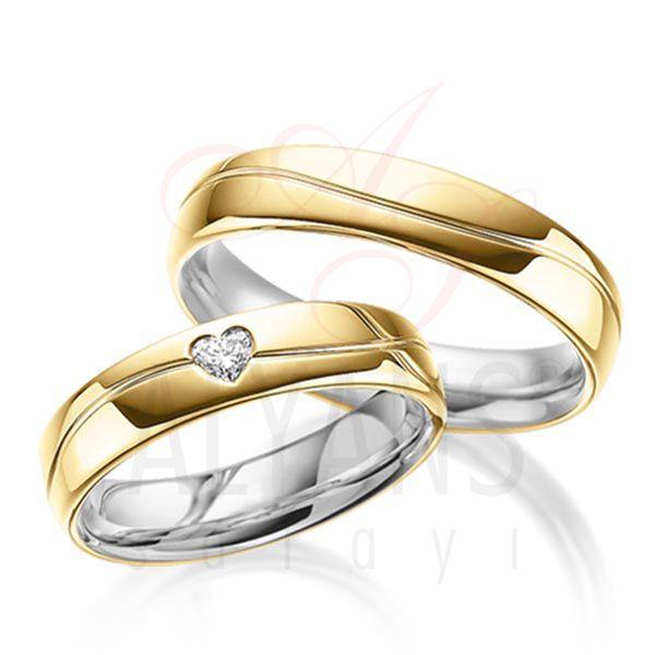 Kalpli Gümüş Alyans