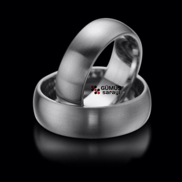 Klasik Gümüş Alyans