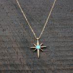 Kutup Yıldızı Altın Kolye