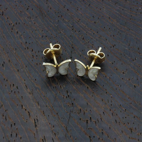 Kelebek Altın Küpe