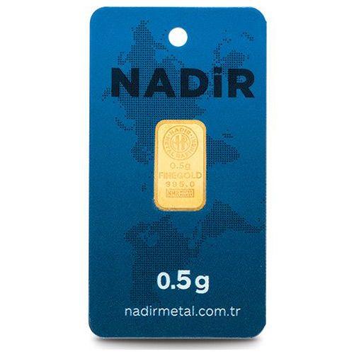 0.50 gram 24 Ayar Altın