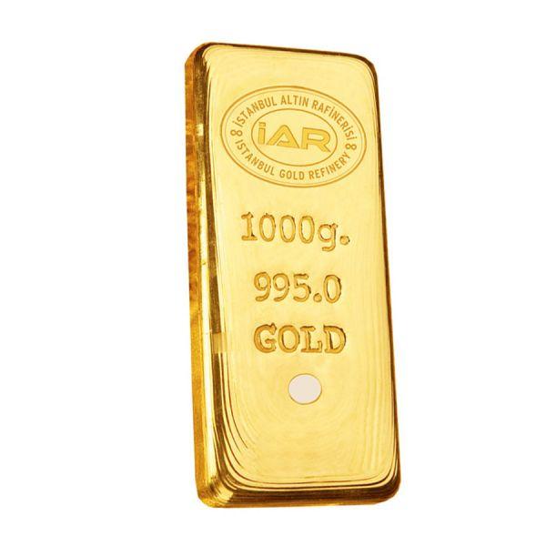 1 Kilo 24 Ayar Külçe Altın