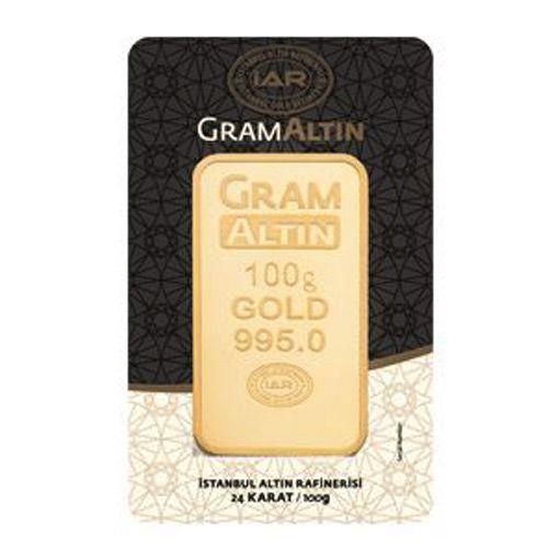 100 gram 24 Ayar Altın