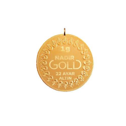 1 Gram 22 Ayar Kulplu Altın
