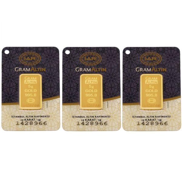 15 gram 24 Ayar Altın