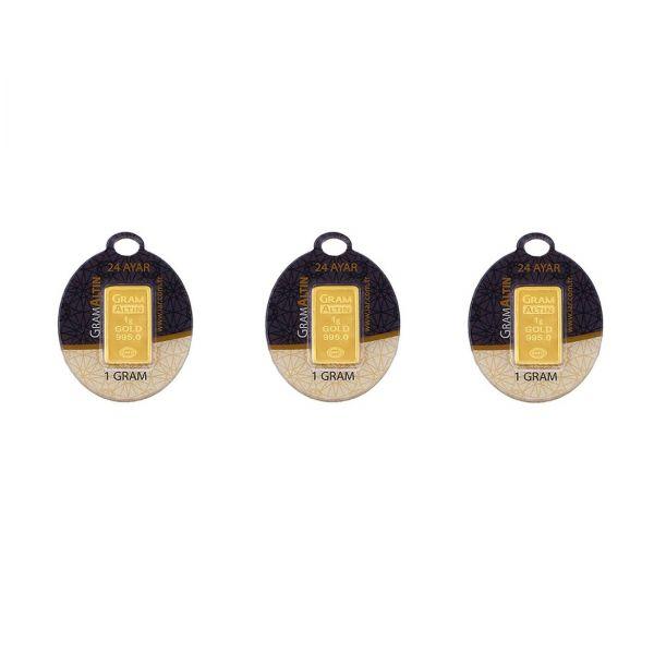 3 gram 24 Ayar Altın