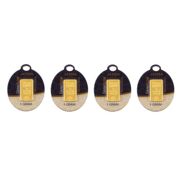 4 gram 24 Ayar Altın