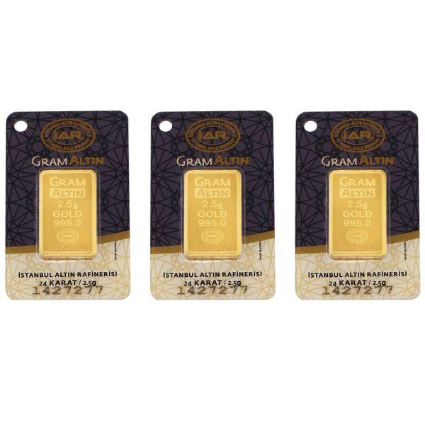 7.5 gram 24 Ayar Altın