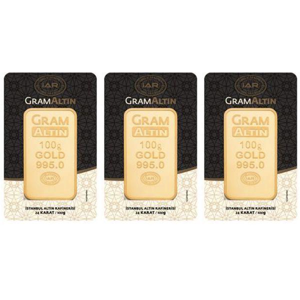 300 gram 24 Ayar Altın