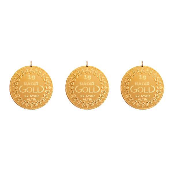3 Gram 22 Ayar Kulplu Altın