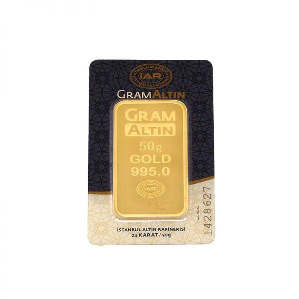 50 gram 24 Ayar Altın