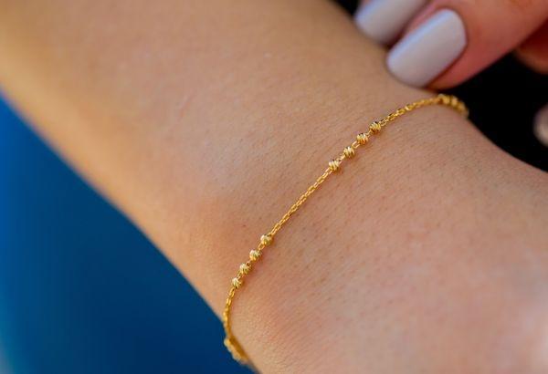 22 Ayar Dorika Altın Bileklik