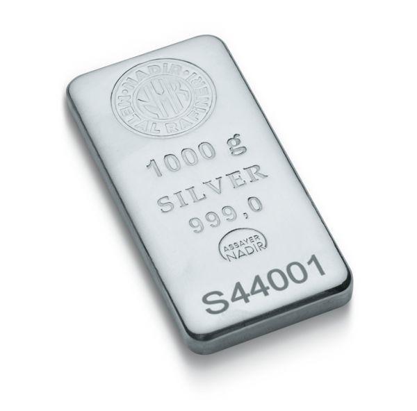 1000 Gram Gümüş Külçe