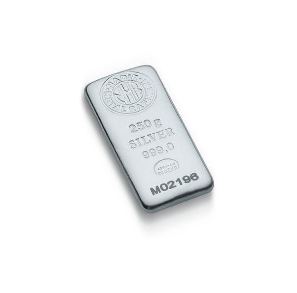 250 Gram Gümüş Külçe