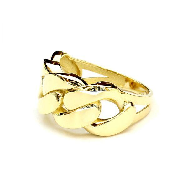 Zincir Modeli Altın Yüzük
