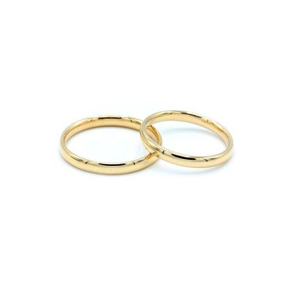 Klasik Altın Alyans 2.5 mm